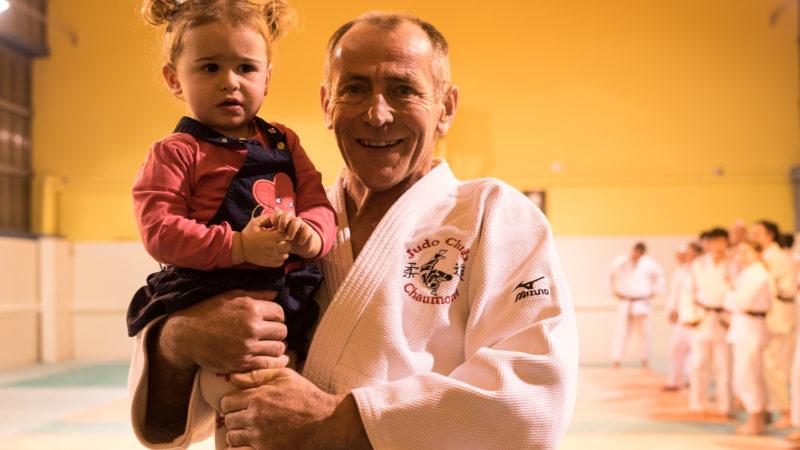 Christophe Vagnerre, 6eme DAN au judo Club CHAUMONT