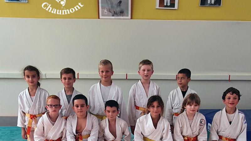 judo club chaumont groupe des 2012