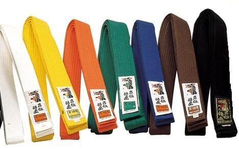 La ceinture en judo : symbole de grade et de la connaissance de notre art