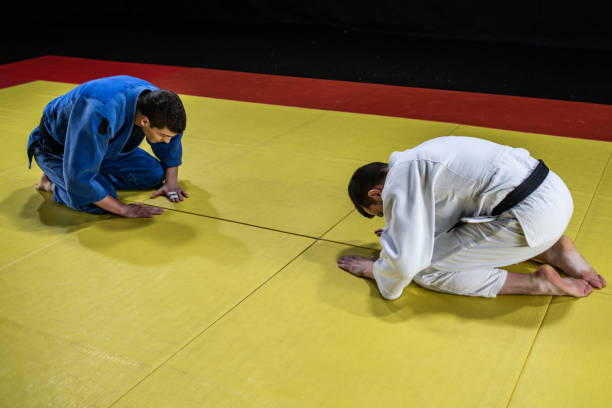 Le Salut au Judo
