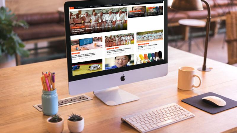 Le site internet du judo club chaumontais fait peau neuve